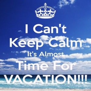 Almost Vacation Time Funny HQTM