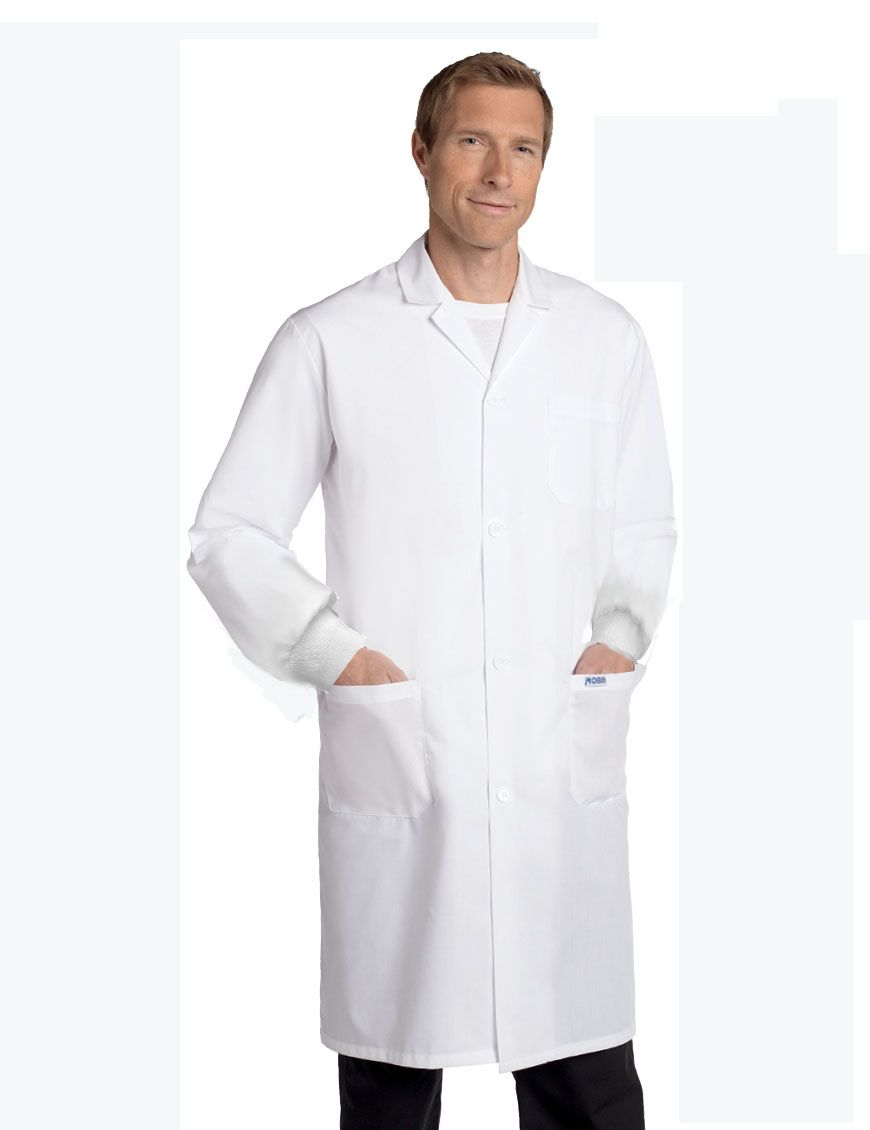 16a85b0bb4d Full Length UNISEX Lab Coat : The essential for every medical professional.  This Full Length Unisex Lab Coat features a snap button front closure with  ...