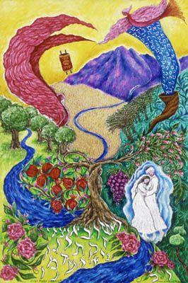"Loren Hodes Art "" Land of Milk and Honey"""
