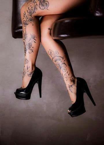 Tattoo beine, legs
