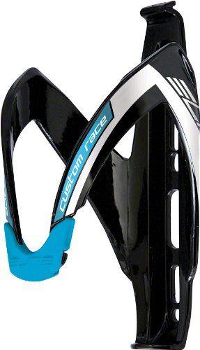 Elite Custom Race Gloss Black//Blue Logo