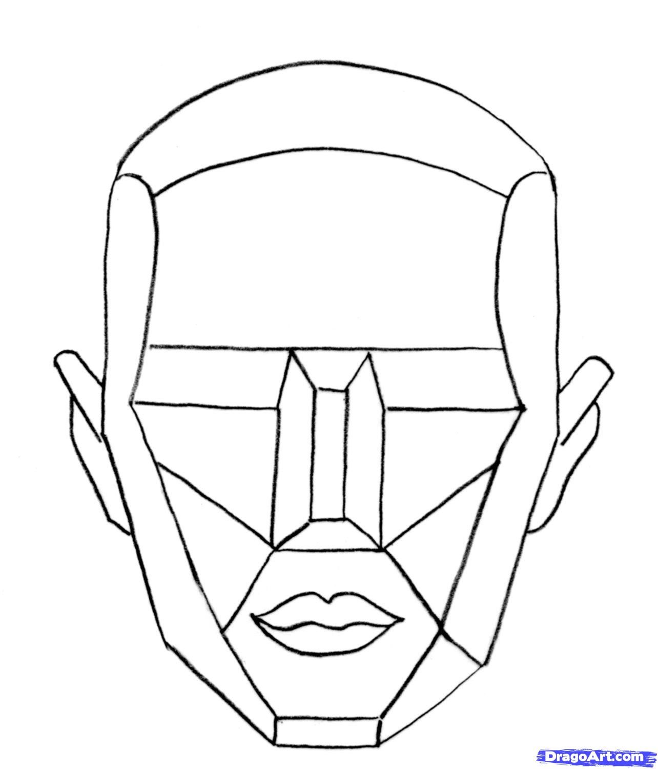 How To Draw The Female Head Tutorial Takes You Step By