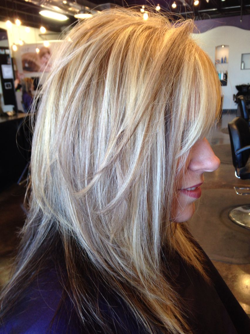 Beautiful Blond With Keune Light Copper Blond Semi And An Ash For The New Growth Long Hair Styles Hair Beauty Hair Styles