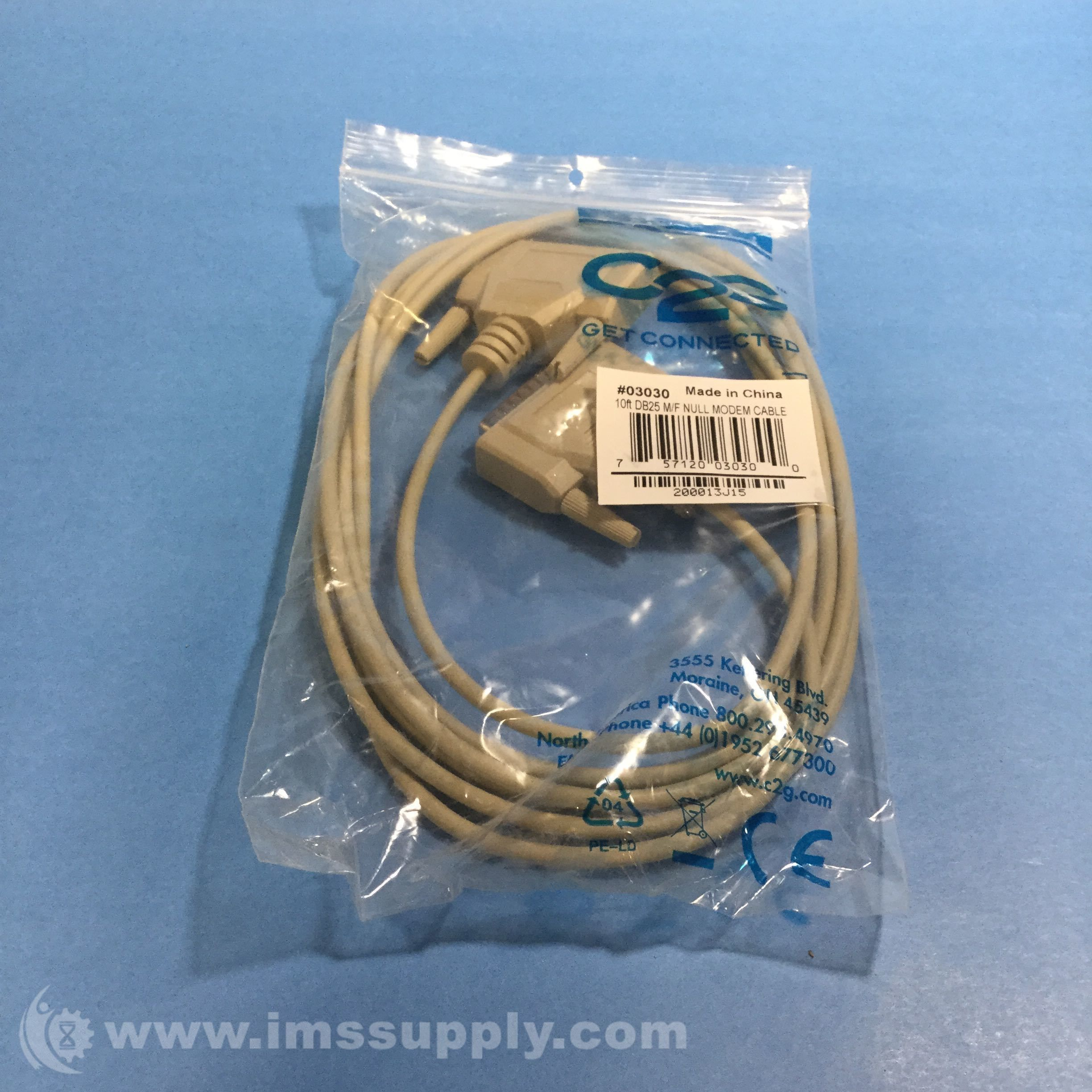 STARTECH SCNM10MF CROSS WIRED SERIAL/NULL MODEM CABLE | Great Deals ...