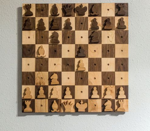 Wall Hanging Chess Set