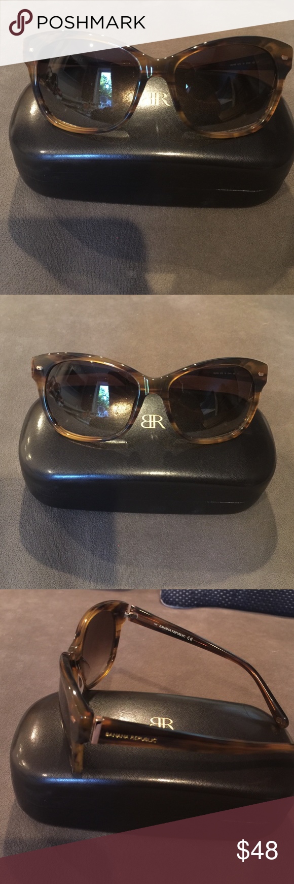 Timeless Banana Republic Sunglasses NWT | Banana republic, Tortoise ...