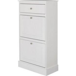 buy dover shoe storage cabinet white at. Black Bedroom Furniture Sets. Home Design Ideas