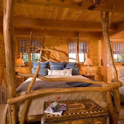 log cabin bedrooms cabin bedroom log cabin dream cabins big rh pinterest ie