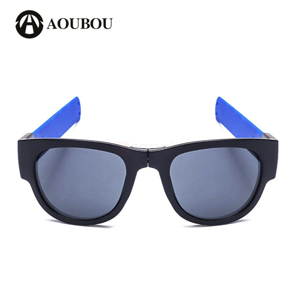 02274a96f8b Slap Bracelets Sunglasses Polarized UV Protection Sunglasses. The frame of  this novelty sunglass can be