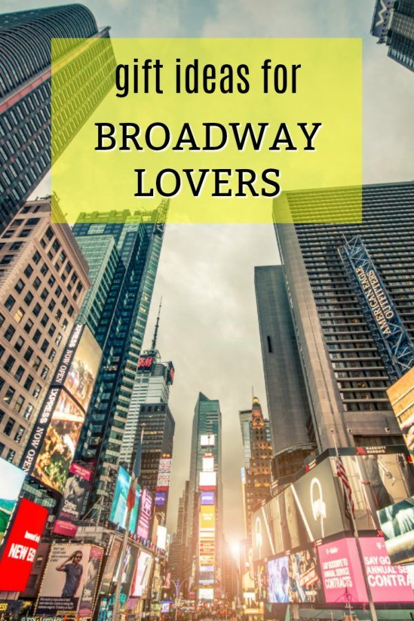 Gift Ideas For Broadway Lovers