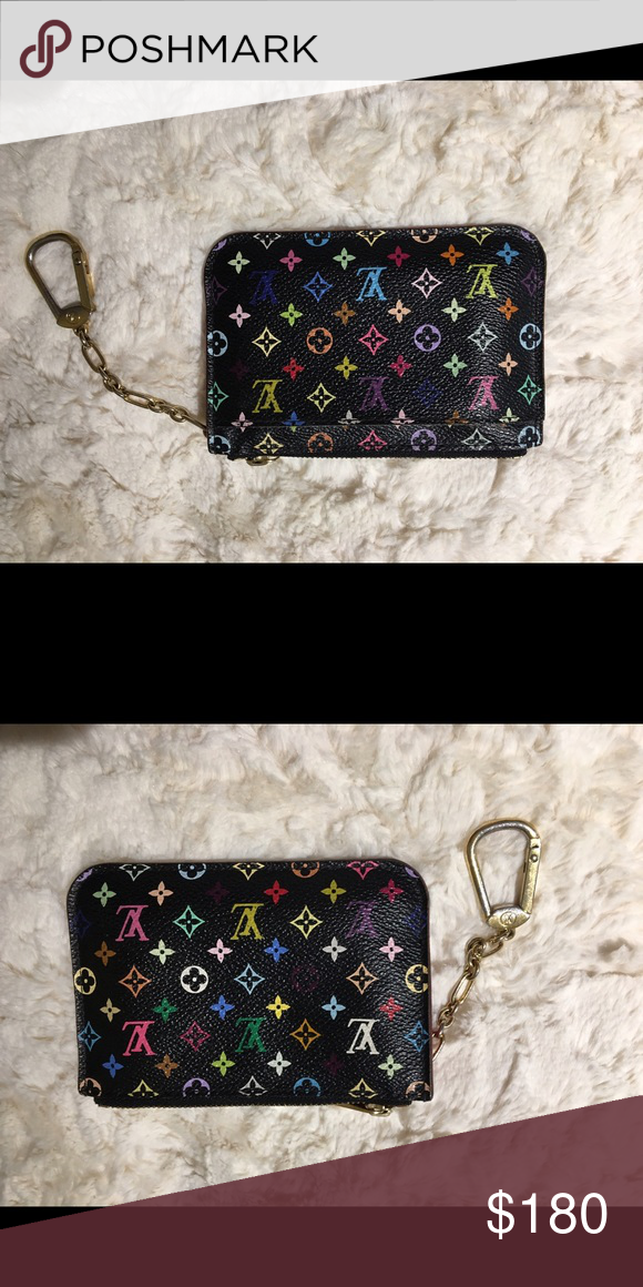 a6f8435f6d7 Louis Vuitton keychain wallet Used 2 times, in PERFECT condition ...