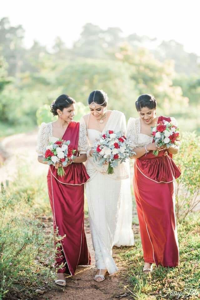 Salon Chandimal Bridesmaid Saree