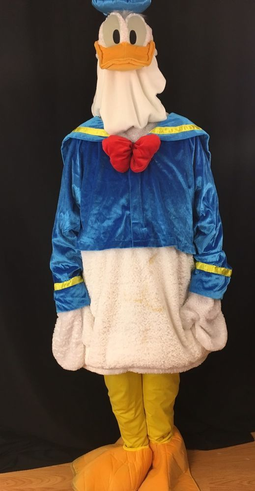 Disney Store Donald Duck Full Costume Mens Adult Size XLarge  #Disney #CompleteOutfit