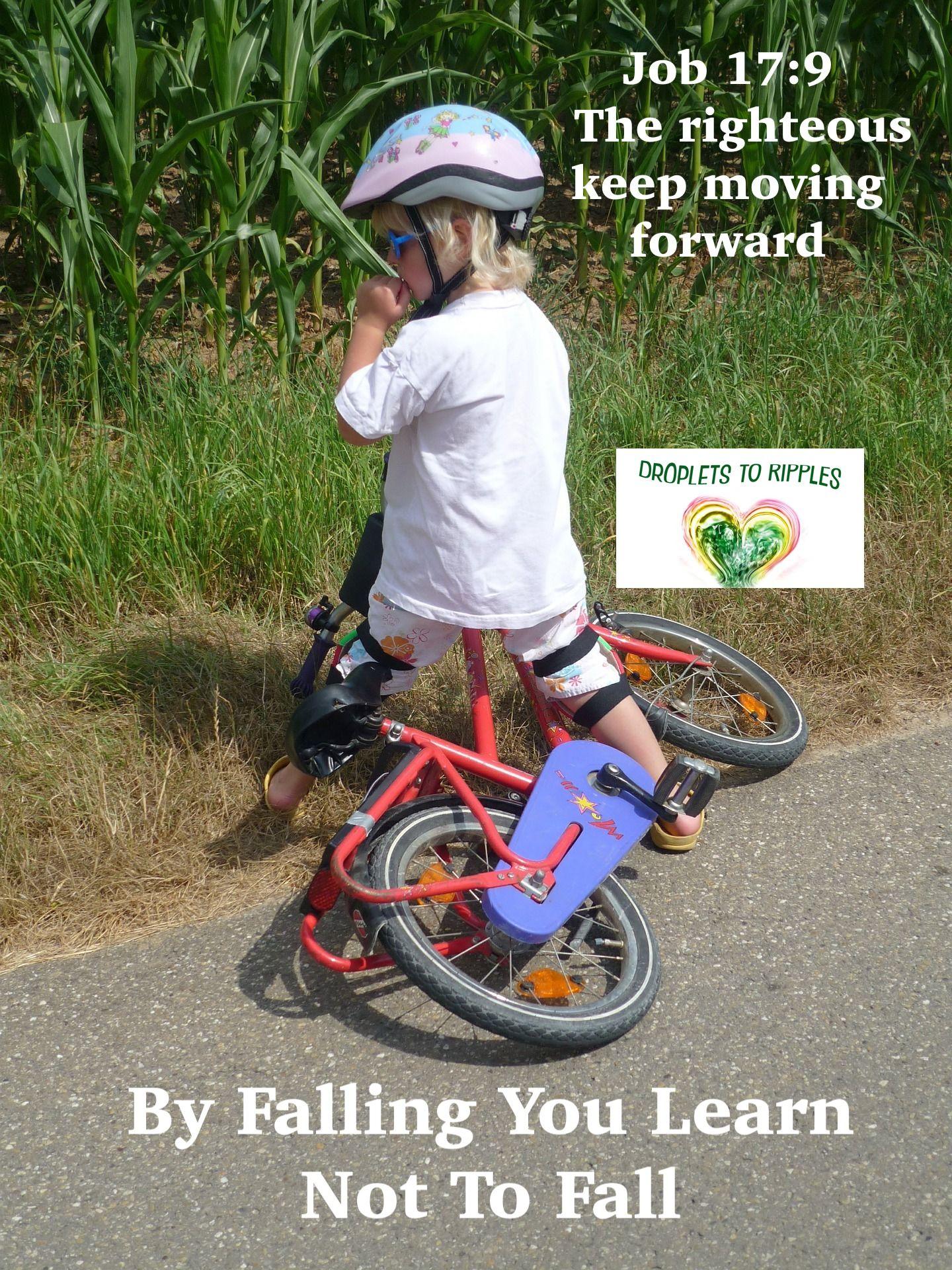 By Falling You Learn Not To Fall Kids Bike Kids Bicycle Bike