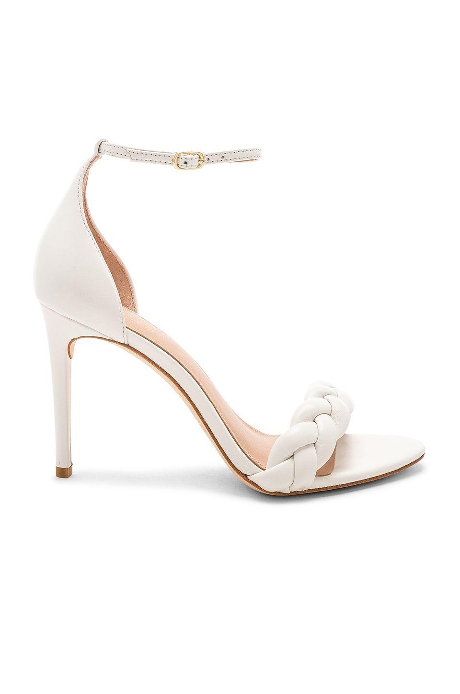 4c80603b5a5 RACHEL ZOE Ashton Braid Sandal in White