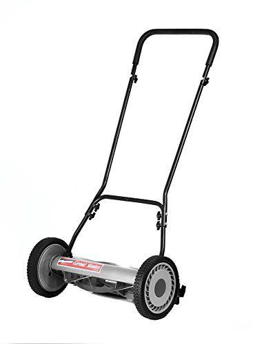 Great States 81518 18Inch 5Blade Push Reel Lawn Mower