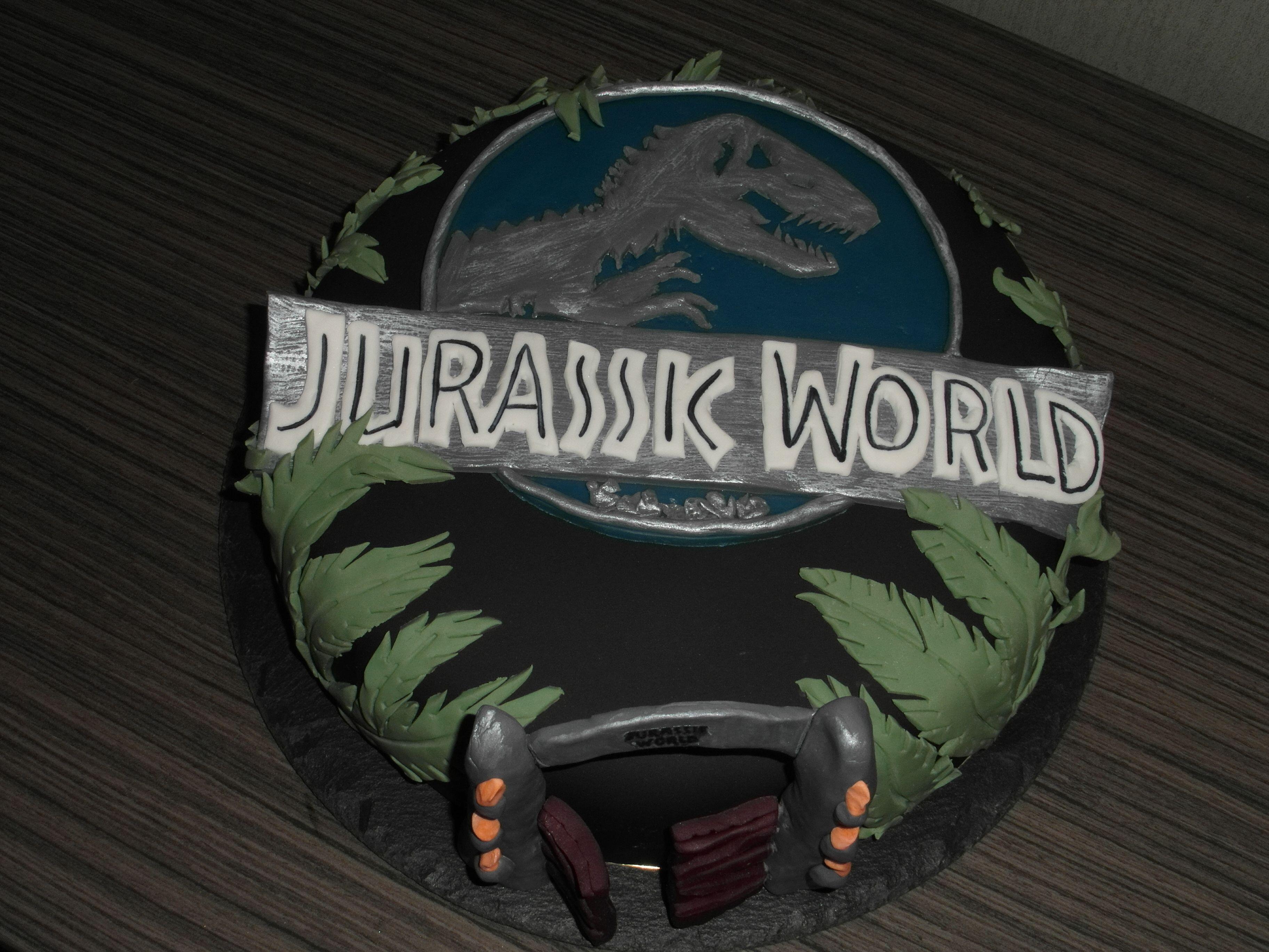 Lego Jurassic World Cake Images : Jurassic world cake Jurassic Park Pinterest Cake ...
