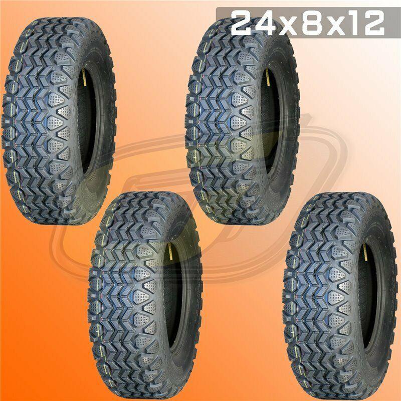 "4-26/"" KENDA BEAR CLAW K299 ATV MUD TIRES 2-26X9-12 /& 2-26X11-12 SET OF 4"