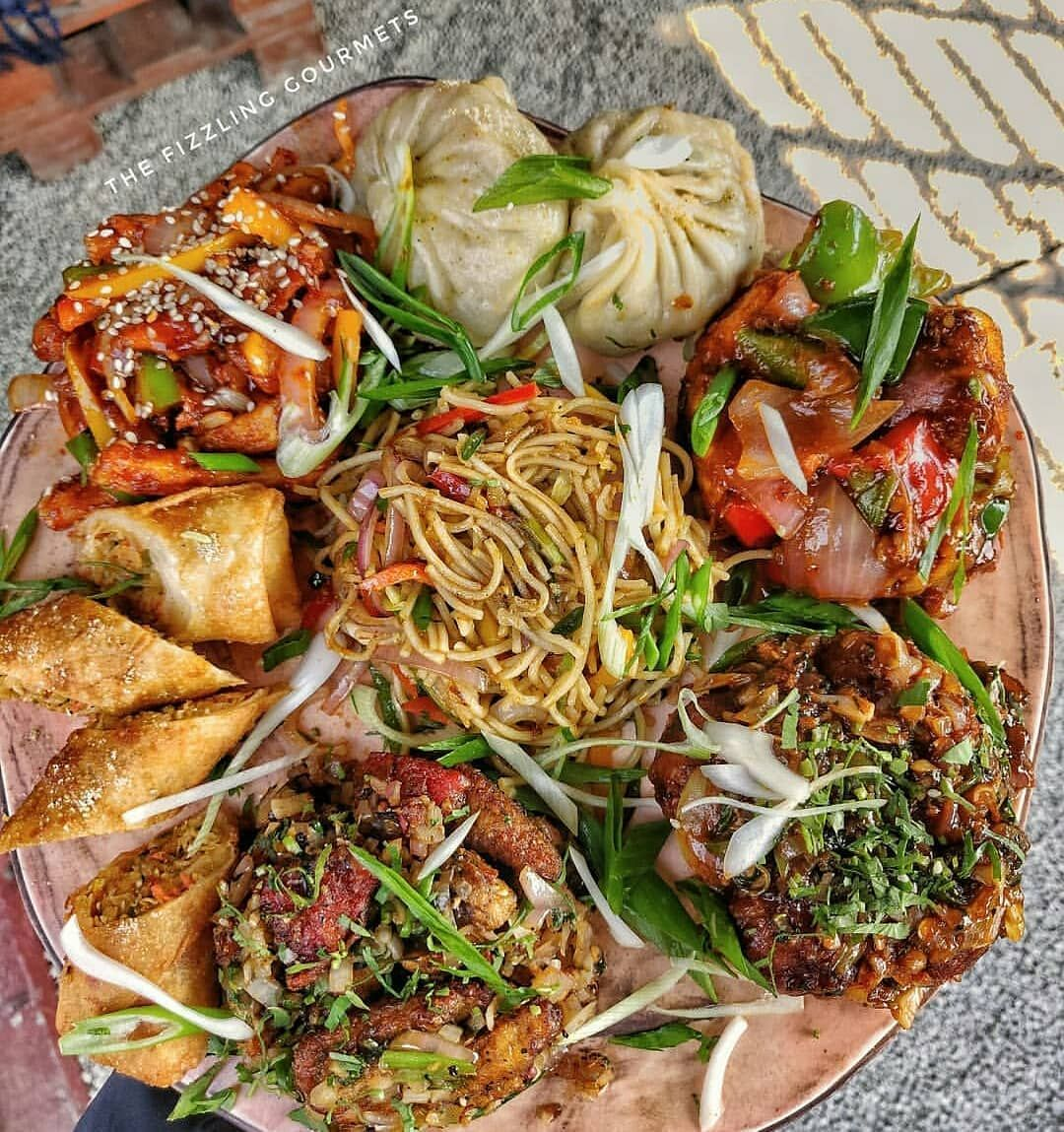 In Frame Chinese Platter Tag Someone Who Loves Chinese Pic Credit Thefizzlinggourmets Food Food Preparation Chinese Food