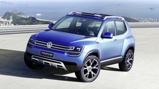 The Volkswagen Taigun Compact Suv Concept Is Likely To Go Into Production If Public Re