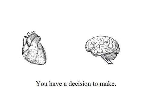 The most toughest choice. .