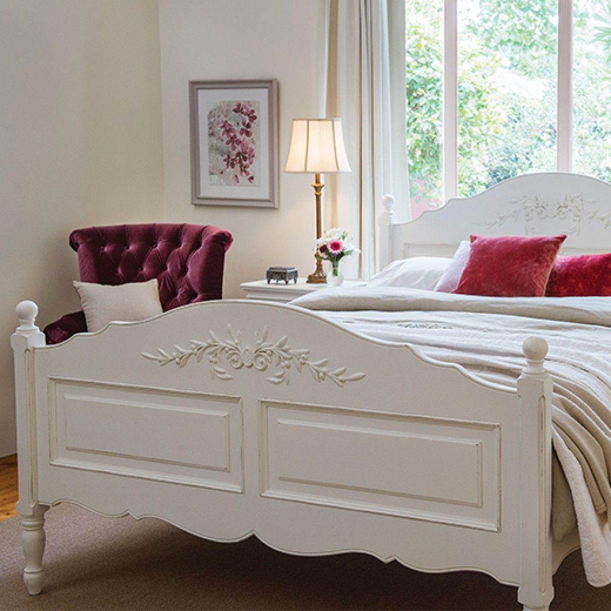 Mansfield Queen Bed From Early Settler SaleFinder Ideal Home - Settler bedroom furniture