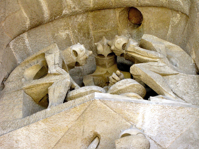Fachada de la Pasion, Sagrada Familia - Barcelona