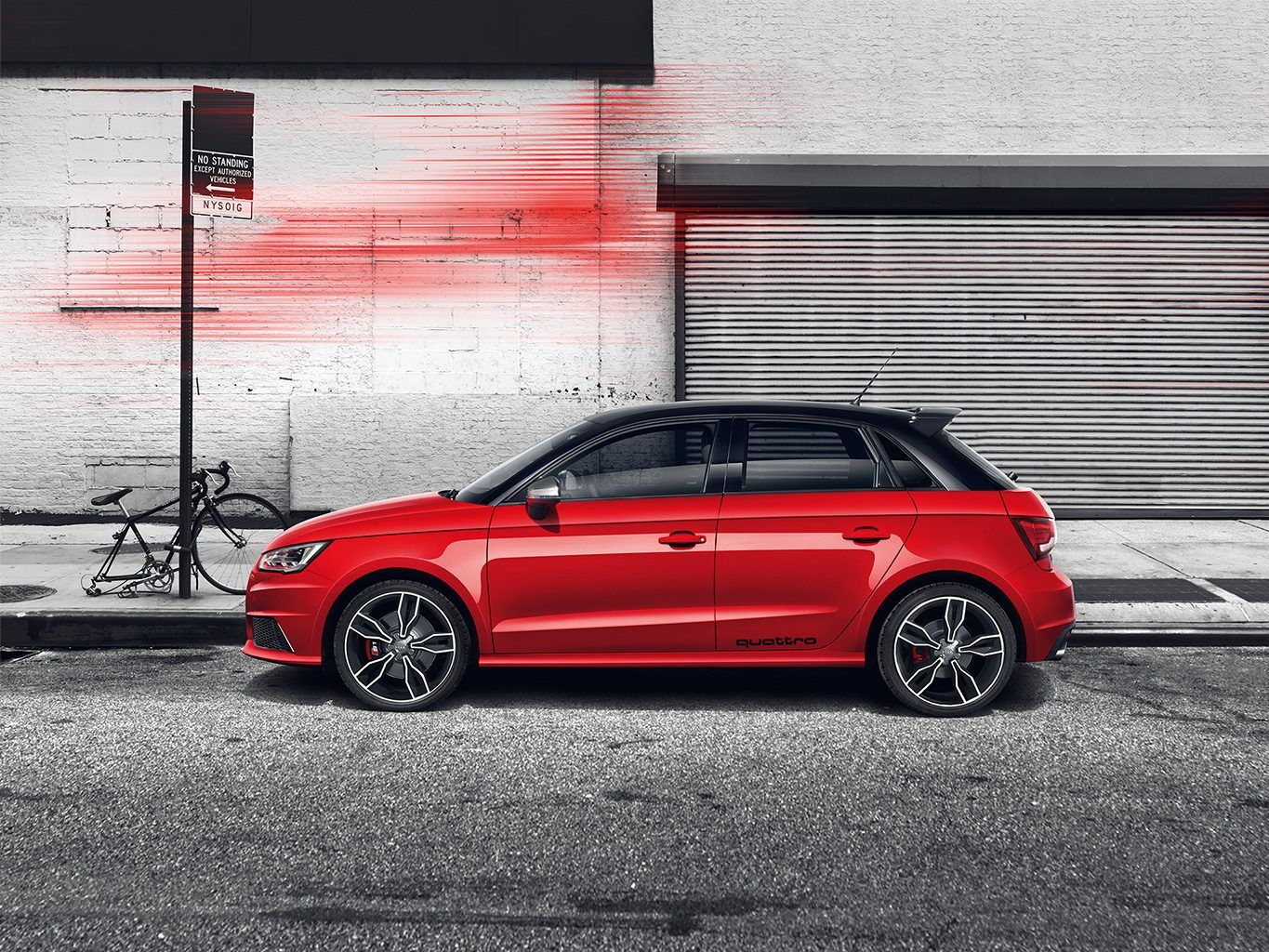 The Most Compact Of The Audi Model Series Stands Out With Its