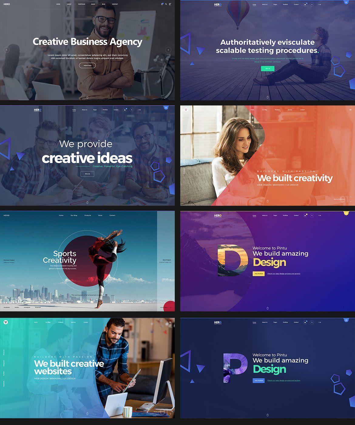 20 Website Hero Headers Website Header Design Website Banner Design Hero Image Design