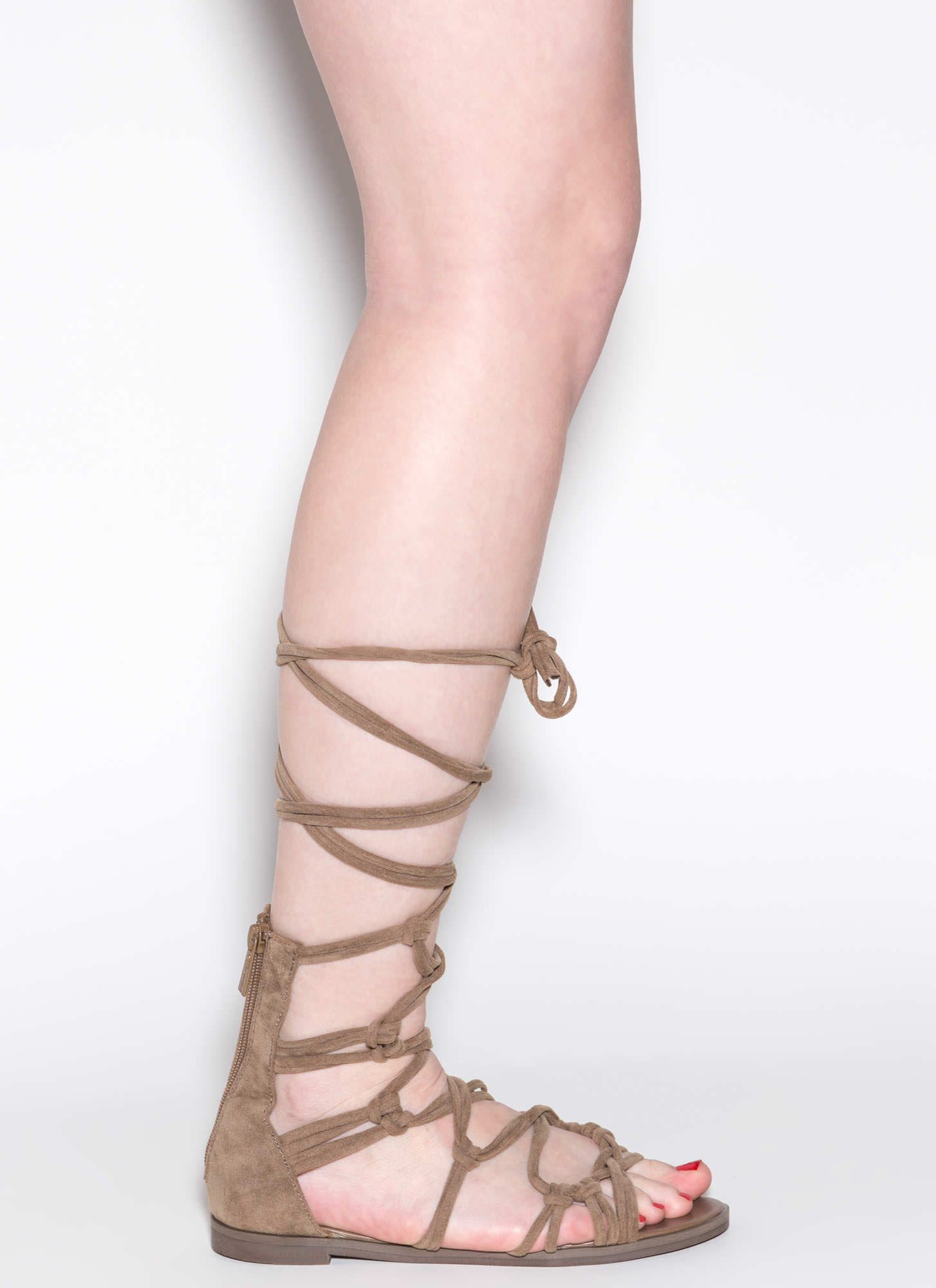 Knotty By Nature Gladiator Sandals | Gladiator sandals