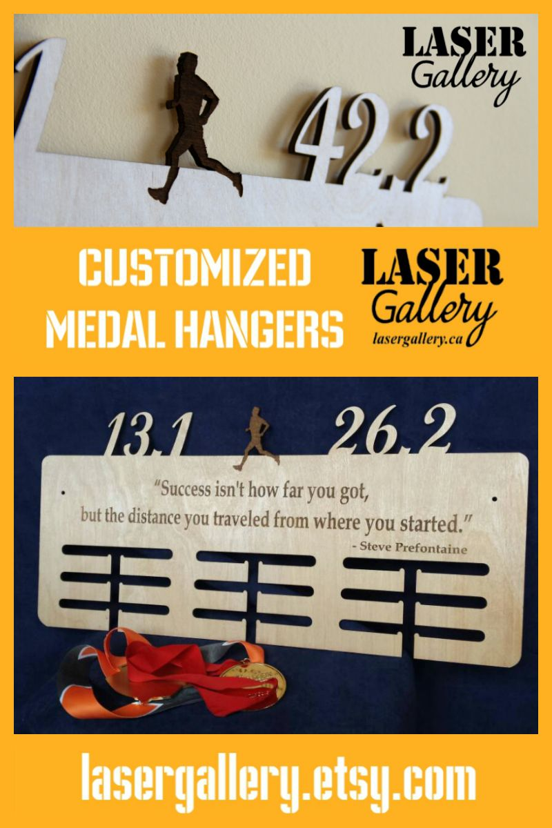 Order your laser cut and engrave medal display at lasergallery.etsy ...