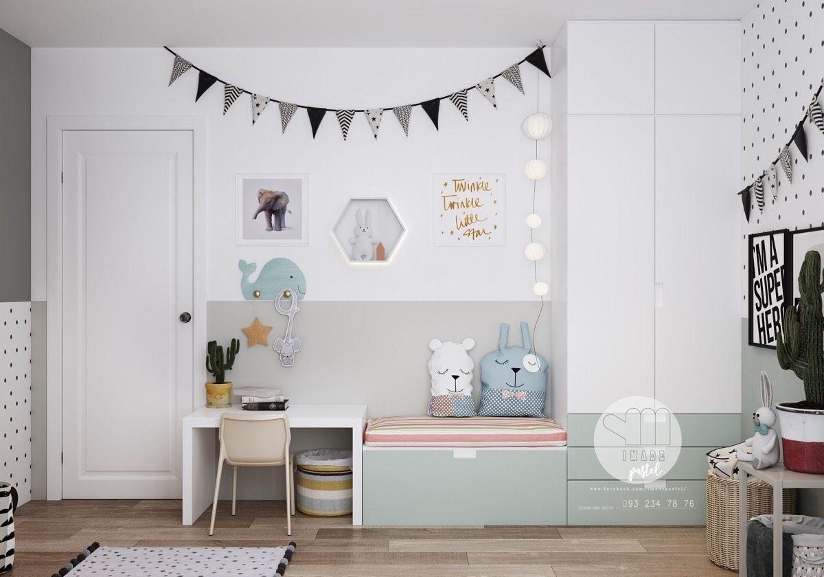 stijlvolle slaapkamer kinderen 4b