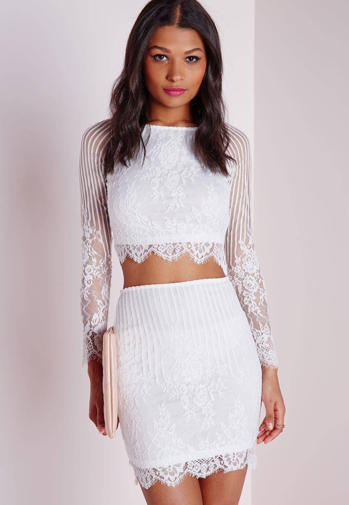lace bodycon mini skirt white mini jupe moulante jupe moulante et dentelle blanche. Black Bedroom Furniture Sets. Home Design Ideas