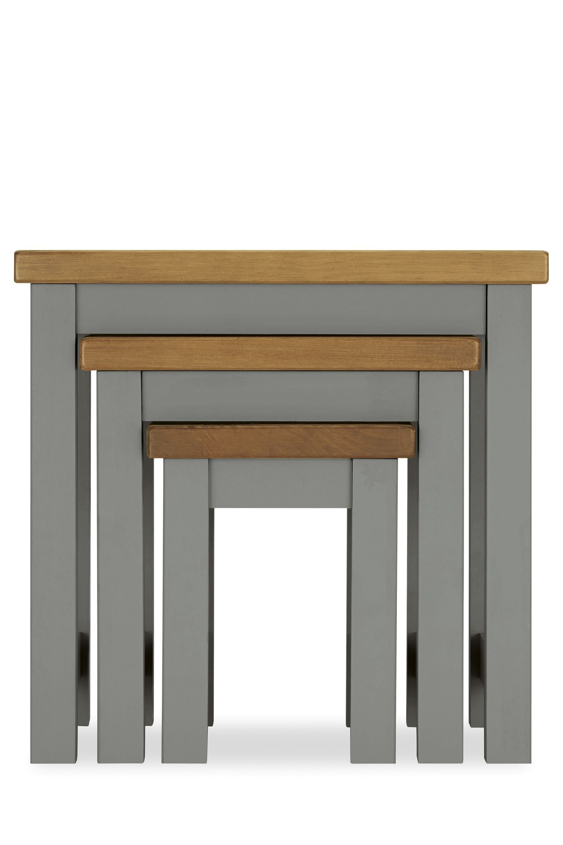 Buy Set 3 Hartford Grey Nest Tables from the Next UK online
