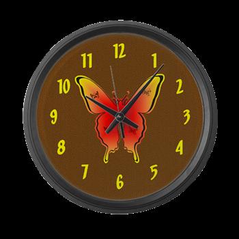 1c2ad5508 Tattoo Butterfly Large Wall Clock | Butterfly Butterflies ...