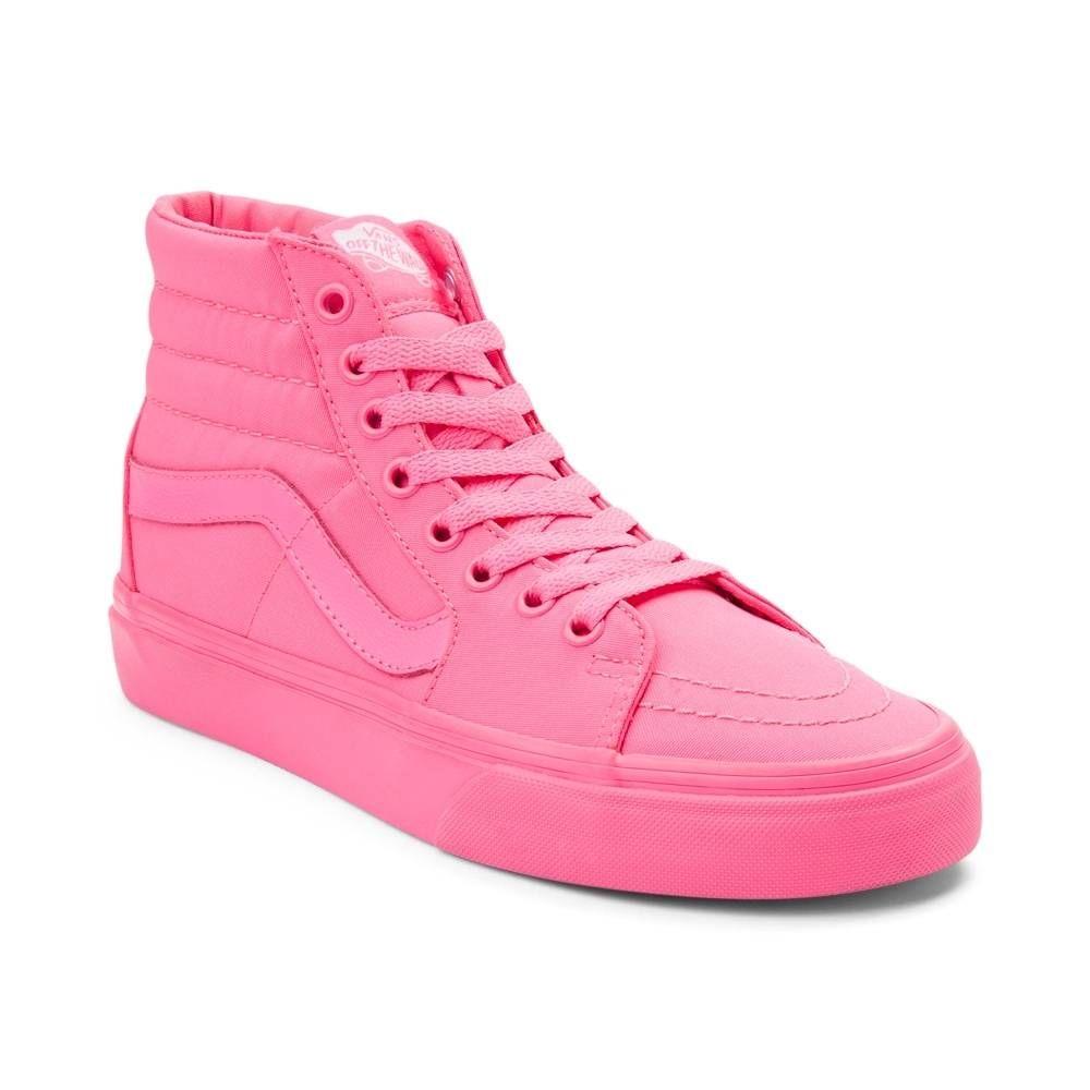 Sk8 Mono Hi Shoe Skate Shoes Vans 498895 Pink In Neon w4PUqqWgR