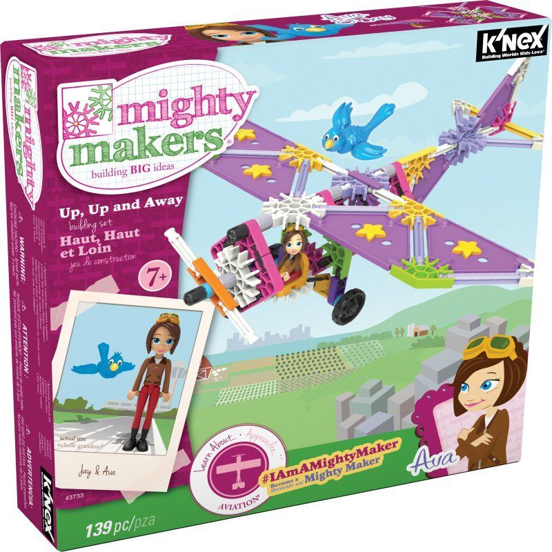 KNEX Mighty Makers Up Up And Away Building Set - 43733