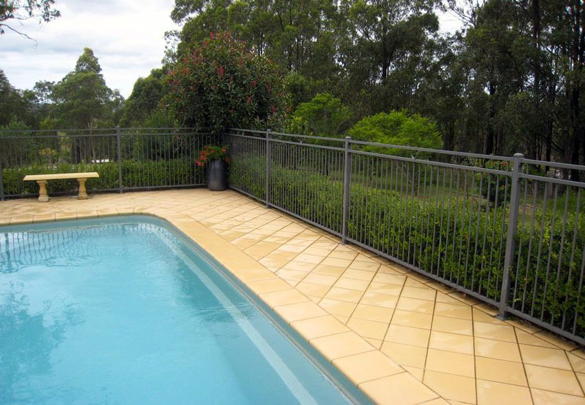 27 Awesome Pool Fence Ideas For Privacy And Protection Fence Design Pool Fence Modern Fence Design