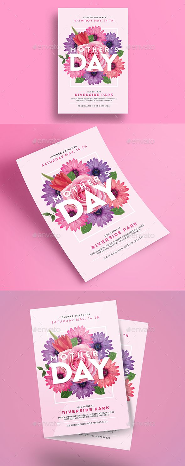 MotherS Day Flyer  Event Flyers Flyer Template And Creative Flyers