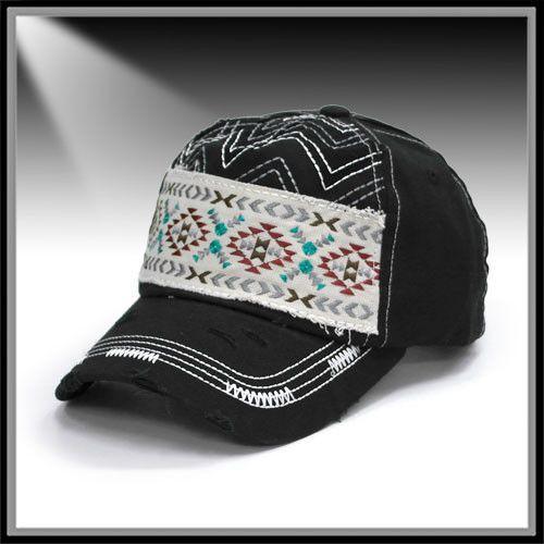 Aztec Cadet Cap Ropes Amp Rhinestones Fashion Hooey Hats