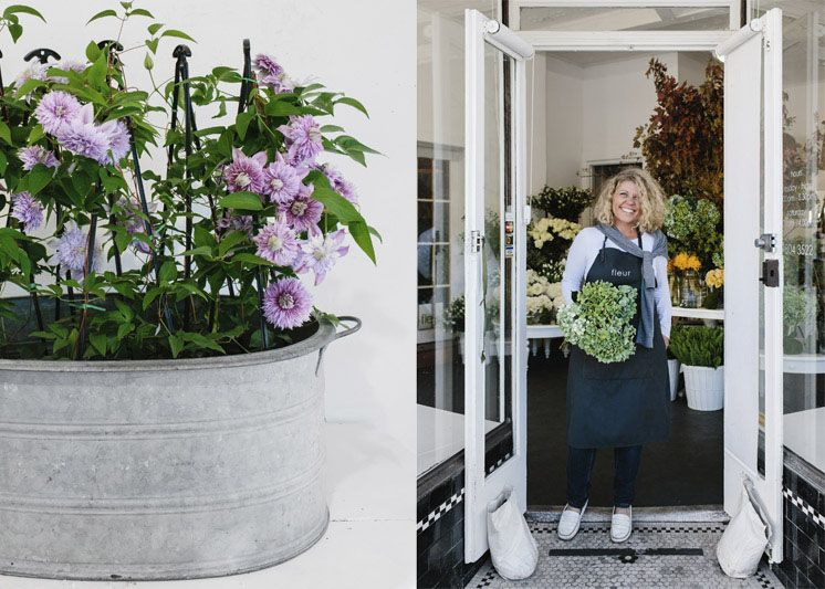 Fleur McHarg Portrait Shop Front | Floristry and Event Styling | Est Magazine