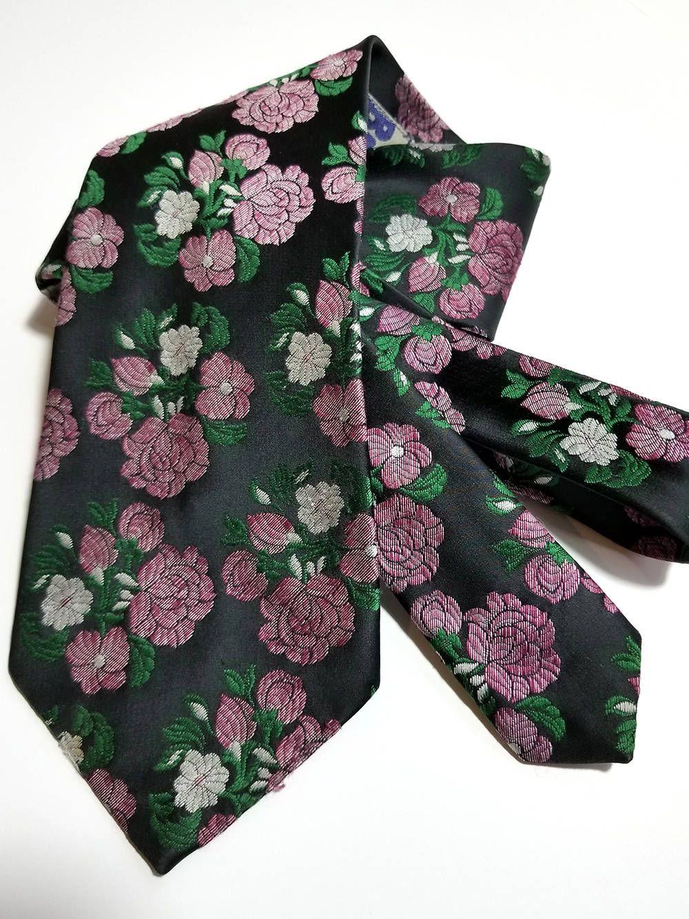 1970 Es Évek. Vintage 1970s Men s Wide Necktie  6eed2e7a6f