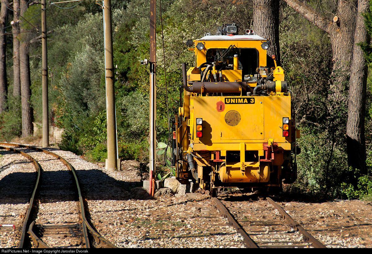 RailPictures.Net Photo: Plasser Unima 3 Ferrocarril de Soller Plasser-Theurer at Bunyola, Mallorque, Balearic Islands, Spain by Jaroslav Dvorak