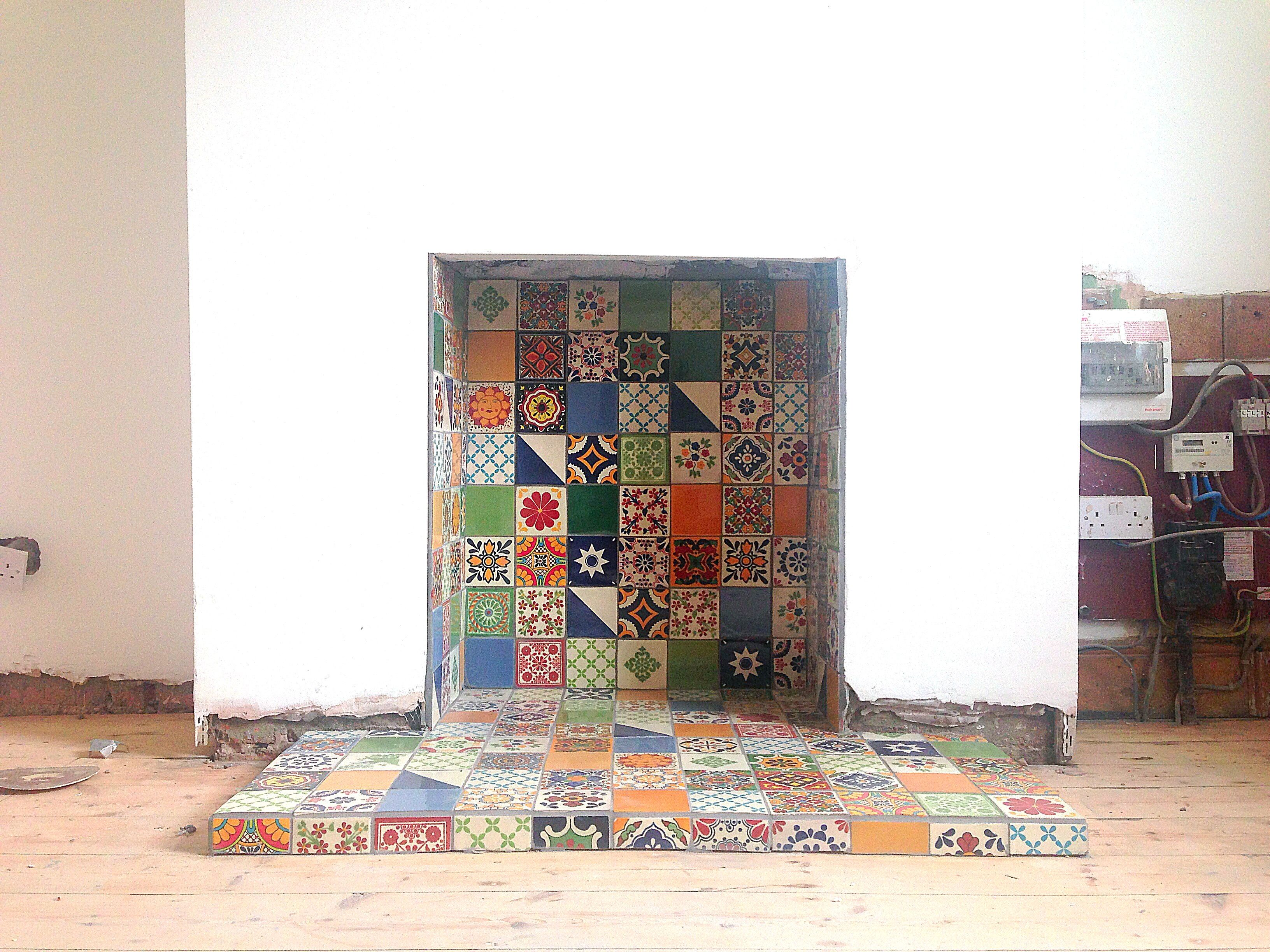 fireplace tiled now to find a stove tiles mexican handmade
