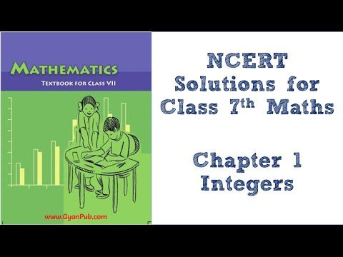 Ncert Solutions For Class 7th Maths Chapter 1 Integers Ex 1 1 Q9