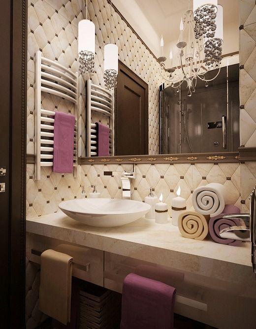 Зеркало в ванную комнату со шкафчиком своими руками: пошаговая ... | 668x520