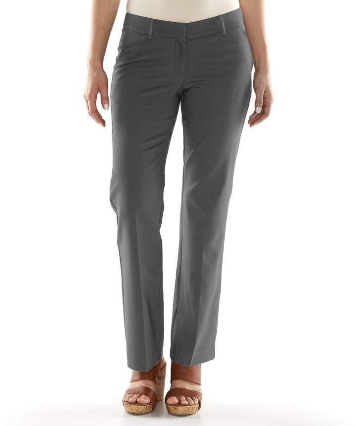 d67062c8f2d Women s Apt. 9 Torie Modern Fit Straight-Leg Dress Pants