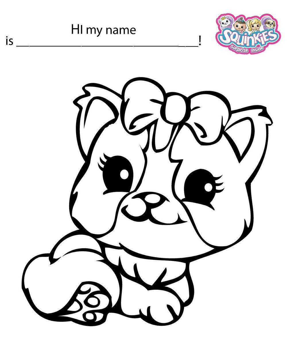 10 Best Super Cute Squinkies Coloring Book For Girls And Boys