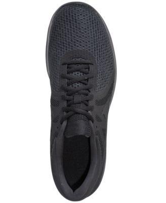 8f0d2f8953c3c Nike Men s Revolution 4 Running Sneakers from Finish Line - Black 11.5