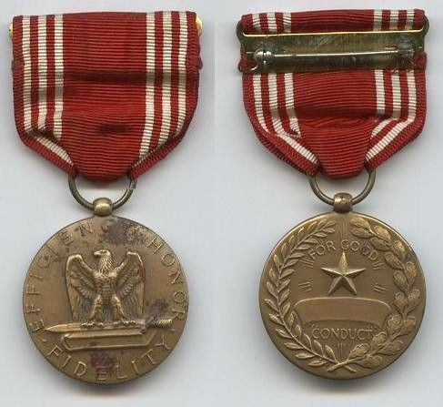 FORCE POLICY - Medal awards and commendations